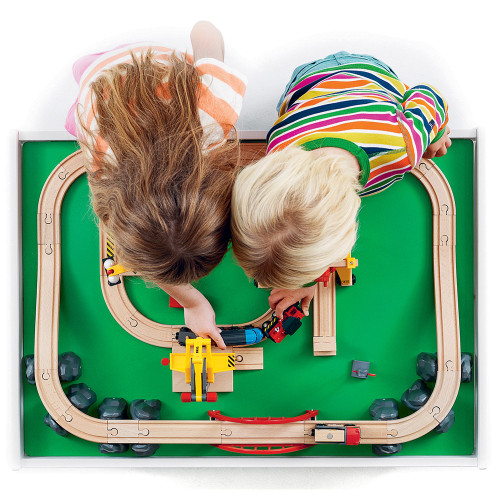 Brio Play Table - lifestyle (toys not included)