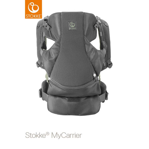 Stokke® MyCarrier™ Front & Back Carrier - Green Mesh - Front