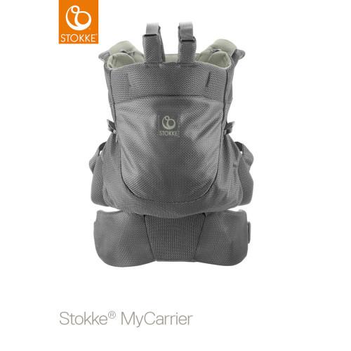 Stokke® MyCarrier™ Front & Back Carrier - Green Mesh - Back