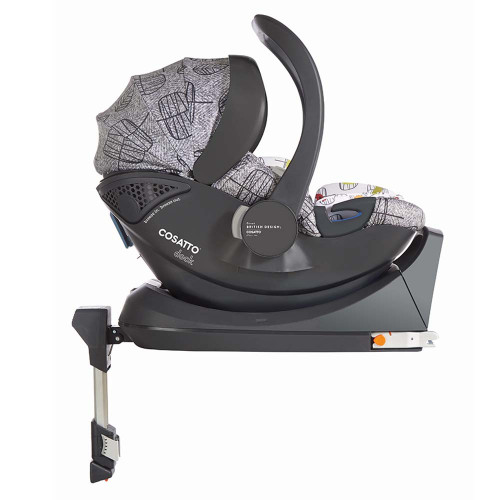 Cosatto Dock i-Size Car Seat - Dawn Chorus (with base)