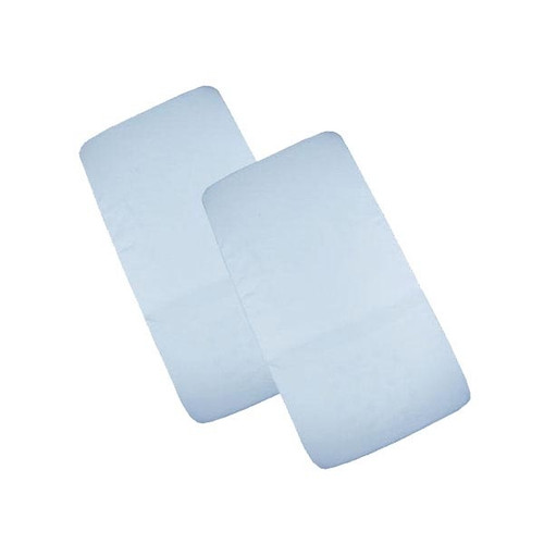 Cuddles Collection Two Pack Crib Fitted Sheets - Blue