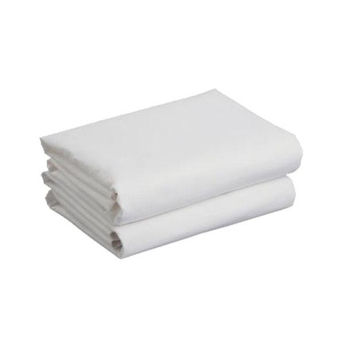 Cuddles Collection Two Pack Cot Jersey Fitted Sheets - White