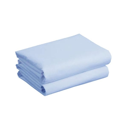 Cuddles Collection Two Pack Cot Bed Jersey Sheets - Blue