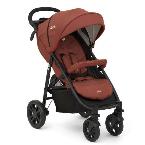 Joie Litetrax 4 Wheel Stroller - Brick Red