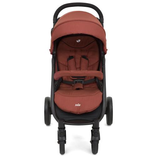 Joie Litetrax 4 Wheel Stroller - Brick Red - Front