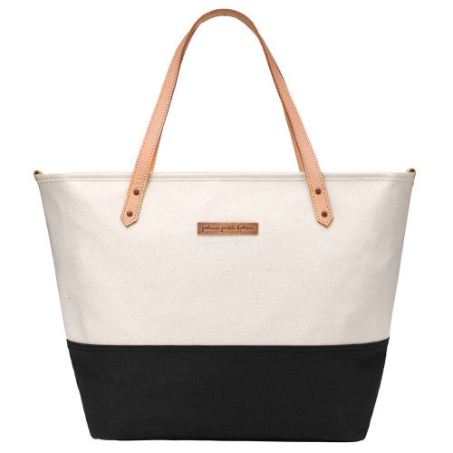 Petunia Pickle Bottom Downtown Tote - Birch/Black