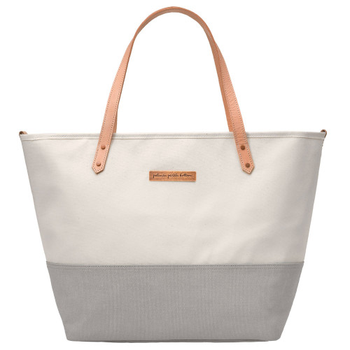 Petunia Pickle Bottom Downtown Tote - Birch/Stone