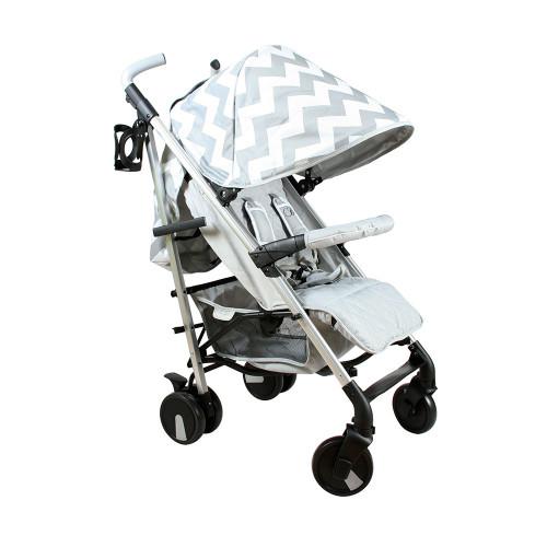 My Babiie MB51 Stroller - Billie Faiers/Grey Chevron - No Footmuff