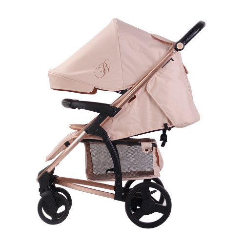 My Babiie MB200 Pushchair - Billie Faiers/Rose Gold & Blush - SIde
