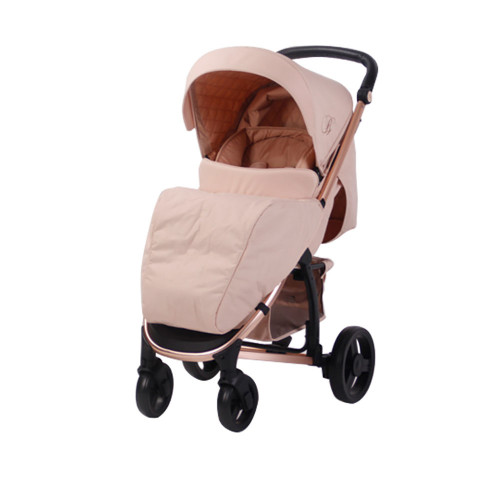 My Babiie MB200 Travel System - Billie Faiers/Rose Gold & Blush - With Footmuff