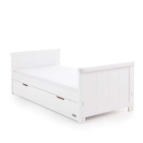 Obaby Belton Cot Bed - White - Bed