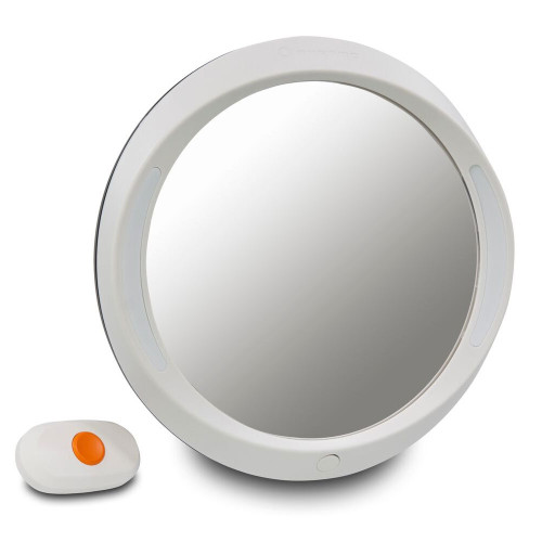 Apramo Iris Baby Mirror Deluxe - Light Grey
