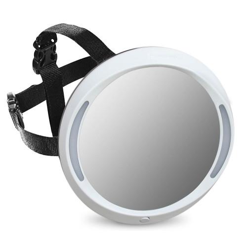 Apramo Iris Baby Mirror - Light Grey