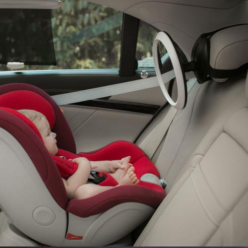 Apramo Iris Baby Mirror - Light Grey - Lifestyle