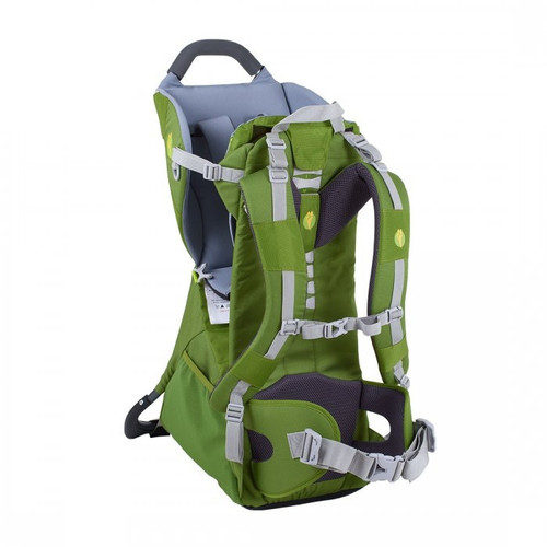 LittleLife Adventurer S2 Child Carrier - Green Back