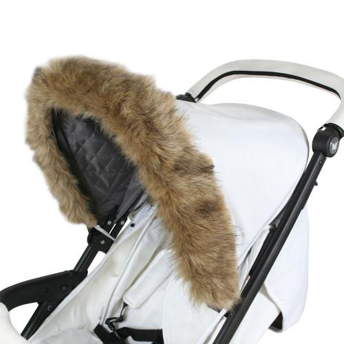 My Babiie Hood Fur - Brown