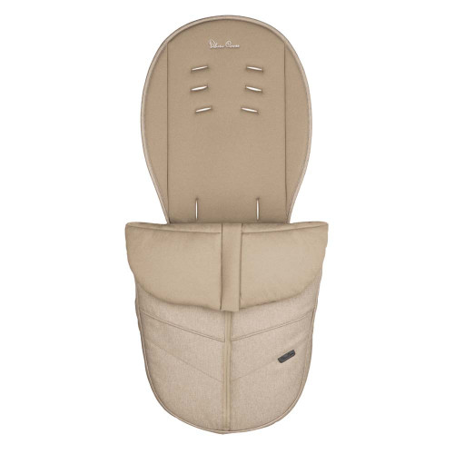 Silver Cross Pram Footmuff - Linen