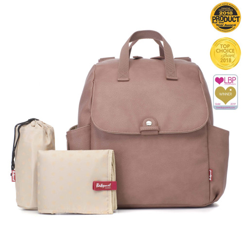 Babymel Robyn Changing Bag – PU Dusty Pink