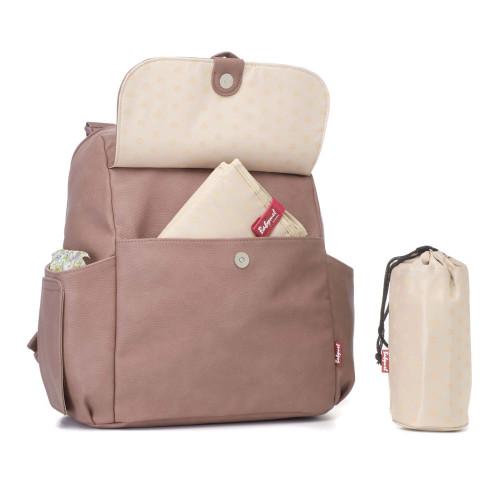 Babymel Robyn Changing Bag – PU Dusty Pink