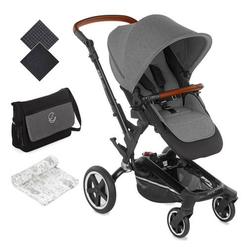 Jane Rider Pushchair - Jet Black