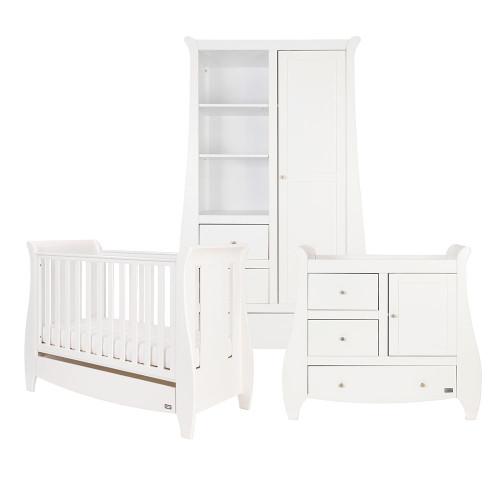 Tutti Bambini Lucas 3 Piece Room Set  - White