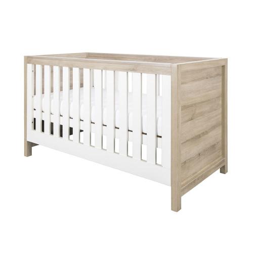 Tutti Bambini Modena Cot Bed - Oak / White