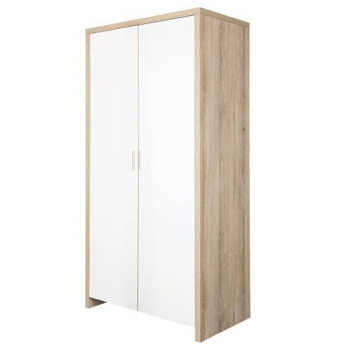 Tutti Bambini Modena Wardrobe - Oak/White