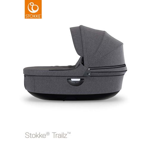 Stokke® Stroller Carrycot Black - Black Melange