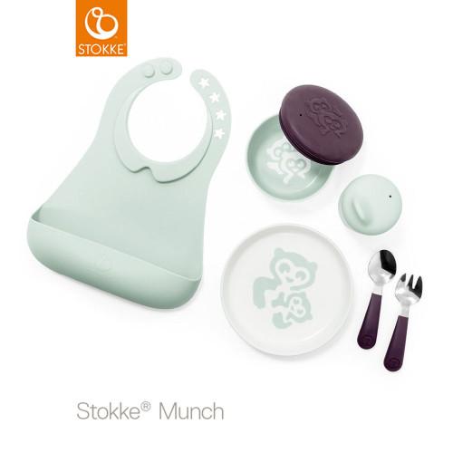 Stokke® Munch Complete Set - Soft Mint
