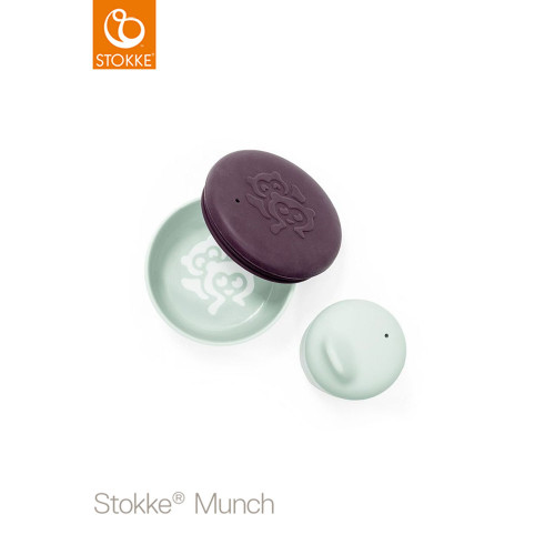 Stokke® Munch Snack Pack - Soft Mint