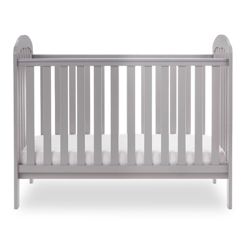 Obaby Lily Cot - Warm Grey (side)