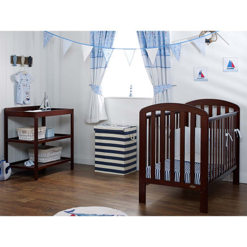 Obaby Lily 2 Piece Room Set - Walnut