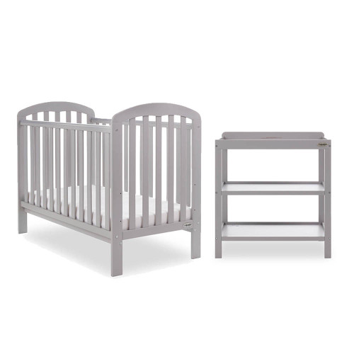 Obaby Lily 2 Piece Room Set - Warm Grey