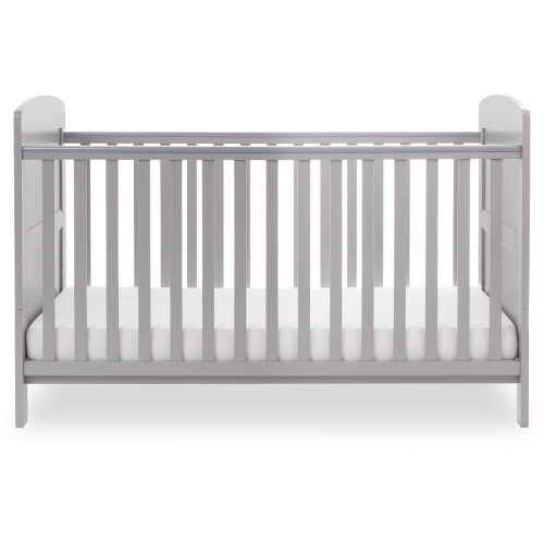 Obaby Grace Cot Bed - Warm Grey (low)