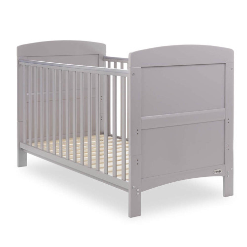Obaby Grace 3 Piece Room Set - Warm Grey (cot)