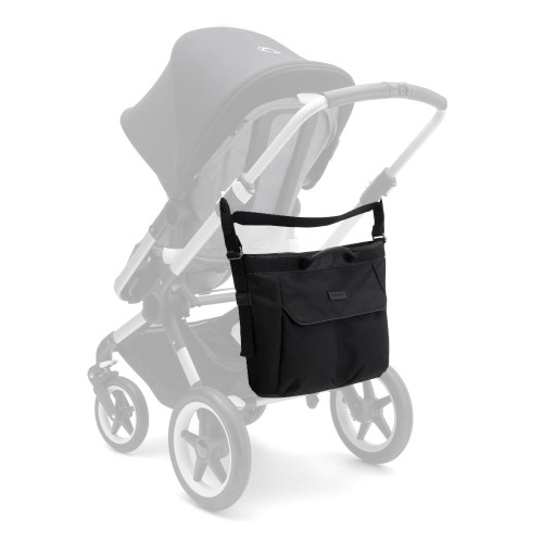 Bugaboo Changing Bag - Black - on - stroller