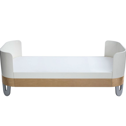 Gaia Serena Junior Bed Extension - White/Natural