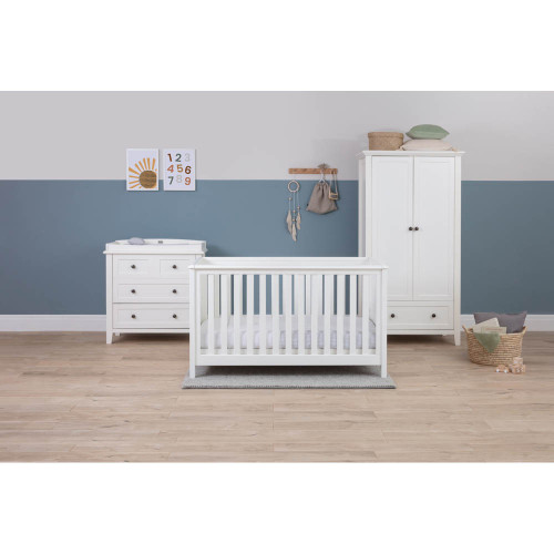 Silver Cross Nostalgia Complete Nursery Set - White