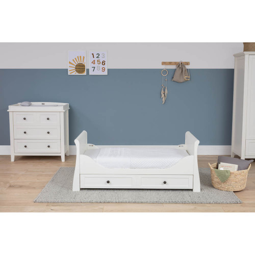 Silver Cross Nostalgia Sleigh Complete Nursery Set - White