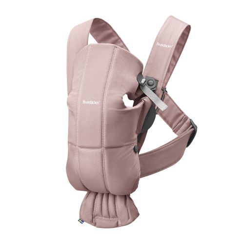 Babybjorn Baby Carrier Mini Cotton - Dusty Pink