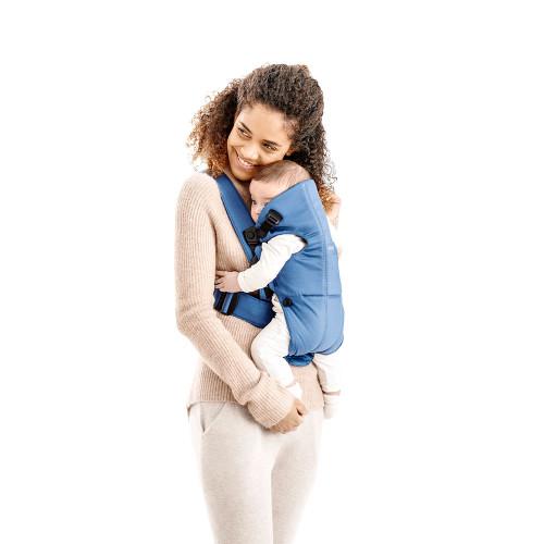 Babybjorn Baby Carrier Mini Cotton - Vintage Indigo