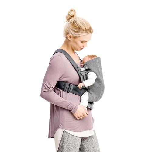 Babybjorn Baby Carrier Mini 3D Jersey - Light Grey