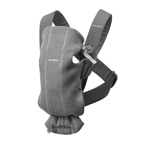 Babybjorn Baby Carrier Mini 3D Jersey - Dark Grey
