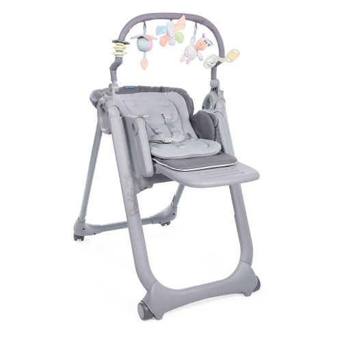 Chicco Polly Magic Relax High Chair - Graphite