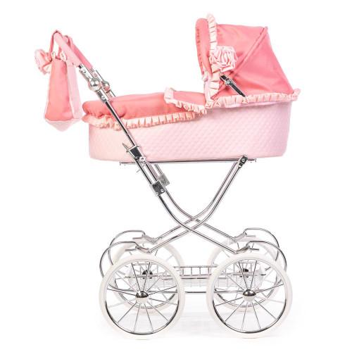 Roma Annie Dolls Pram - Pink