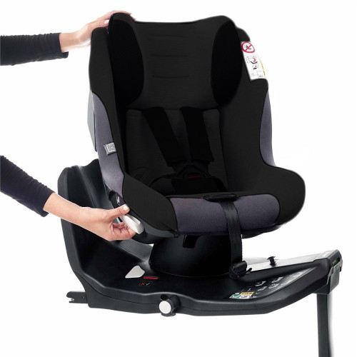 Jane Gravity i-Size Car Seat - Jet Black