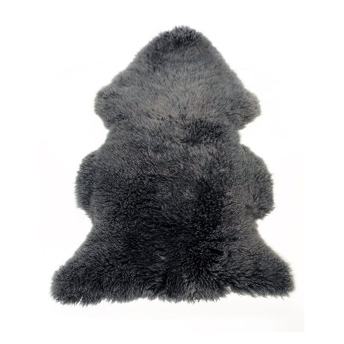 Bozz Lambskin Curled Longwool - Anthracite