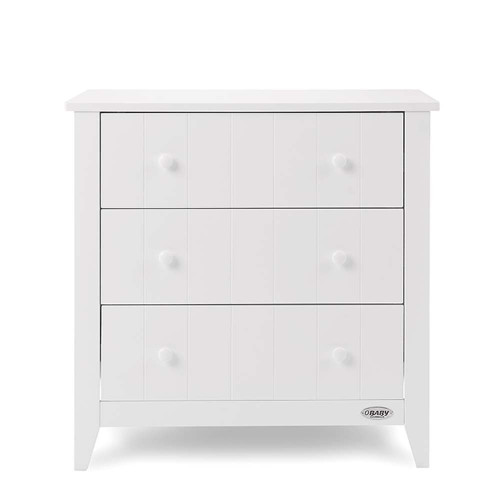 Obaby Belton Chest of Drawers - White