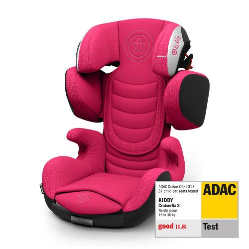 Kiddy Cruiserfix 3 - Rubin Pink