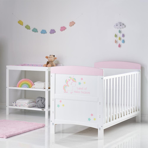 Obaby Grace Inspire 2 Piece Room Set - Unicorn